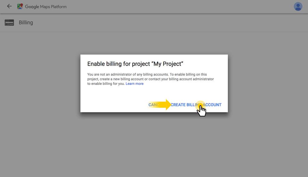 Google Map API-مرحله دوم