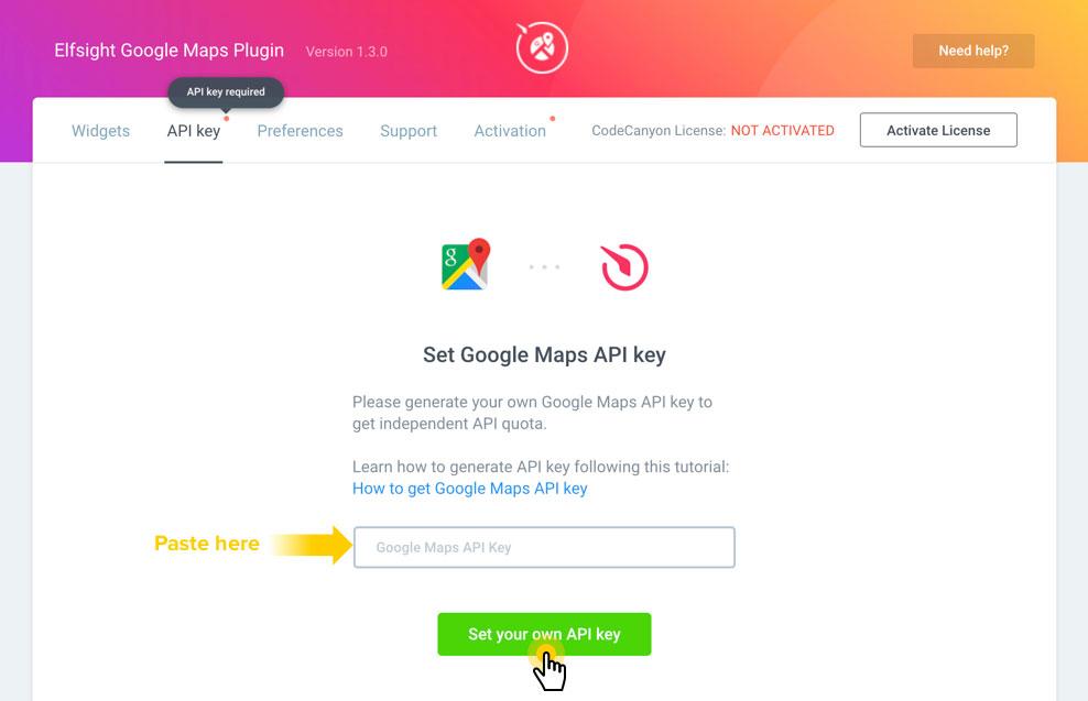 Google Map API-مرحله سوم3