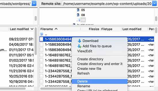 فایل ها را آزاد کنید تا فضای بیشتری را آزاد کنید