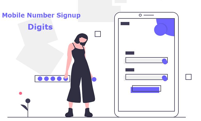 افزونه ثبت نام با مویایل Digits